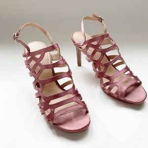 GORGEOUS Kelly & Katie strappy rose sandals 8.5